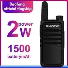 Walkie Talkie baofeng bf r5 mini Çocuk iki yönlü radyo uhf radyo Taşınabilir 2 W Oyuncak Iletişimci BF R5 FM Radyo HF verici Ham cb