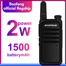 Walkie Talkie baofeng bf r5 niños mini radio de dos vías de radio uhf portátil 2 W juguete comunicador BF R5 Radio FM HF transceptor jamón cb