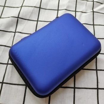 100 Capacity Cards Holder Notebook Hard Case Card Holder For Pokemon CCG MTG Magic Yugioh Board Game Cards Book Sleeve Holder - Blue
