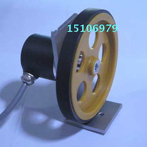 Image 2 - Rotary encoder meter wheel With wheels holder Encoder one set Encoder plus meter wheel bracket