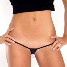 be01df904 Super Mini Micro G-cordas Tangas Sexy Hot Bikini Bottom Algodão Malha  Calcinha Transparente das Mulheres Tanga T de Volta roupa .
