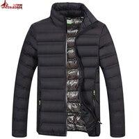 UNCO BOROR Spring Autumn Light Cotton Padded Parka Coat Winter Jacket Men Military Outwear Windbreak Bomber
