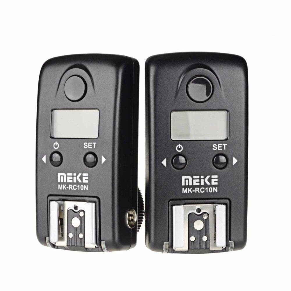 MEIKE MK RC10N HSS I TTL 1 8000s Wireless LCD TTL Studio Flash Trigger for Nikon