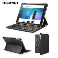 TeckNet Folio Bluetooth Wireless Keyboard Cover For IPad Air 2 IPad Pro 9 7 Version Smart