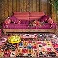 Роскошный большой ковер для гостиной в стиле Марокко  геометрические Коврики для спальни  прикроватные противоскользящие ковры  кухонные к...