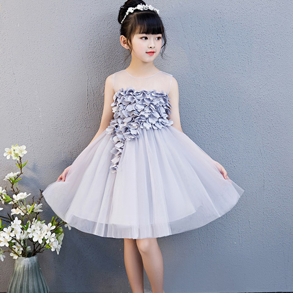 Summer Girl Lace Dress Long Tulle Teen Girl Party Dress ...
