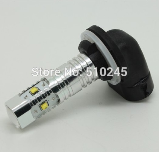 10X hot selling h27 881 XBD LED high power 25w chip Fog Lights Replacement lamp car fog light bulbs free shipping