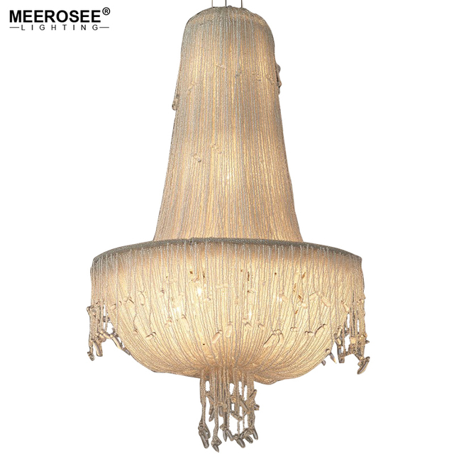 Meerosee long size crystal light fixture french empire chandelier meerosee long size crystal light fixture french empire chandelier bedroom aisle porch lamp hallway crystal lustre aloadofball