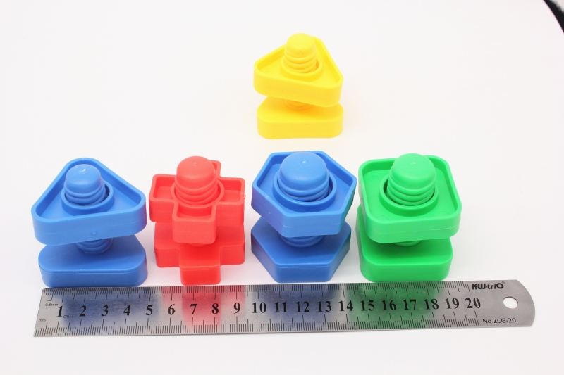 8 9 Toys For Birthdays : 5 pairs lot plastic building blocks toys children birthday gift nut