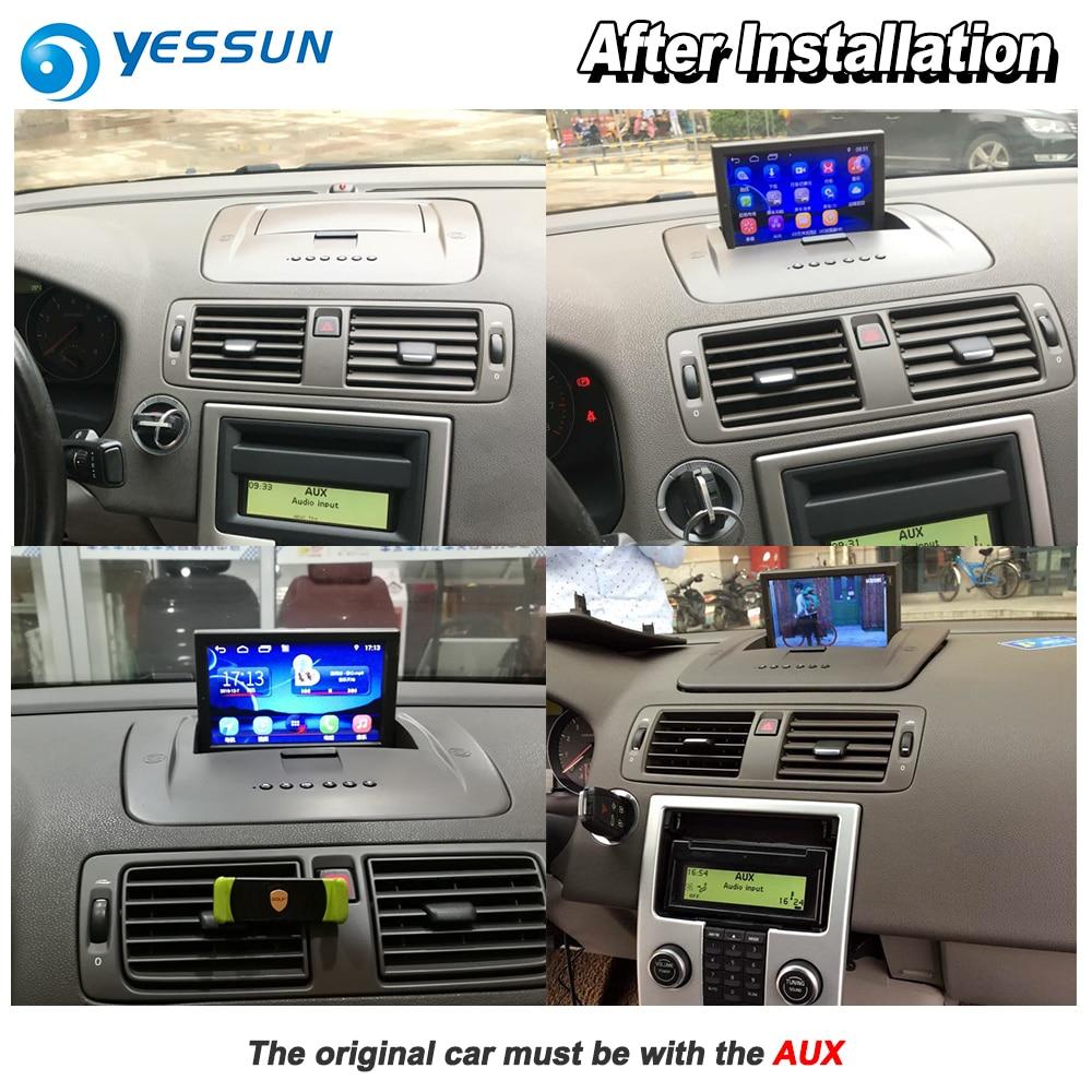 YESSUN For Volvo S40 2004~2012 Car Android Carplay GPS Navi maps Navigation  Player Radio Stereo Multimedia HD Screen No CD DVD