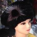 2016Hot мода отлично кролика рекс шляпа Подлинная Женщины зимняя шапка высокое качество берет hat Ж #61