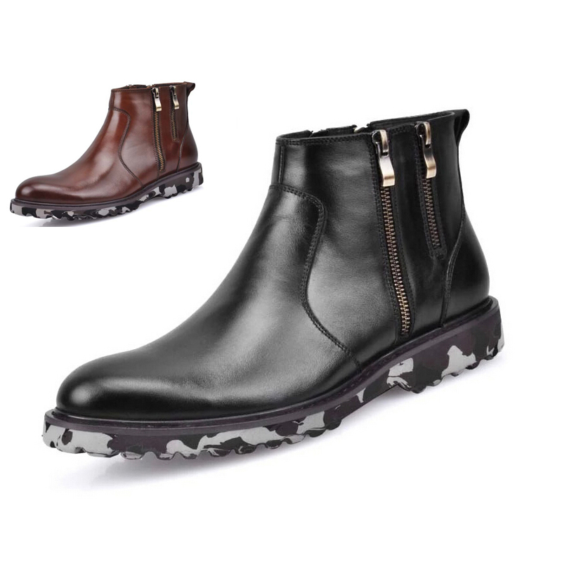 Popular Mens Zipper Boots-Buy Cheap Mens Zipper Boots lots from ...