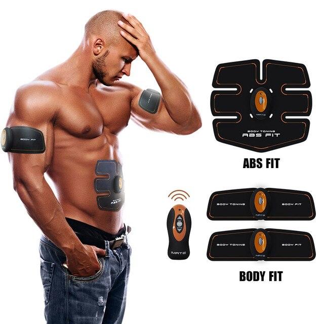 Новый Многофункциональный Беспроводной смарт Многофункциональный EMS брюшной тренажер Жилищно брюшной мышцы Похудения Массажер