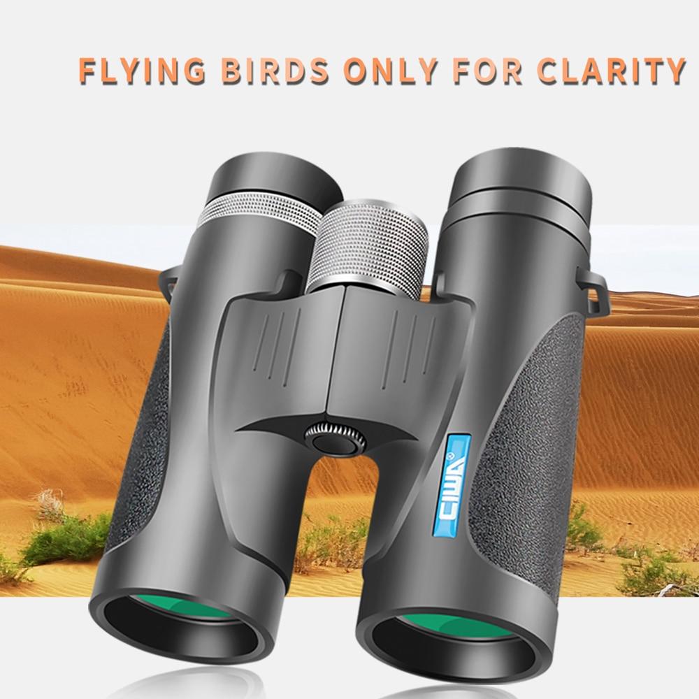 CIWA vision king Binoculars Telescope Twin Zoom vision King professional binoculars 8x42 Eyecups Army Green FOR