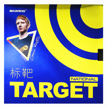 SANWEI TARGET National Table tennis rubber control loop with blue sponge pimples in ping pong rubber tenis de mesa sanwei table tennis rubber t88 ultra spin 40 half sticky speed training with sponge pimples in ping pong rubber tenis de mesa