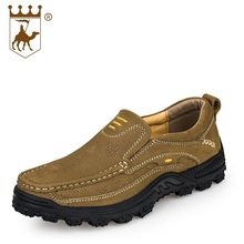 Casual Shoes Men Boat Shoes High Quality Flats Genuine Leather Men Working Shoes Size 38-44 AA20527