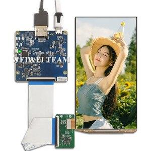 Wisecoco, pantalla AM-OLED de 5,5 pulgadas FHD OLED 1080*1920 1080P, con controlador HDMI a MIPI, placa controladora para proyecto diy