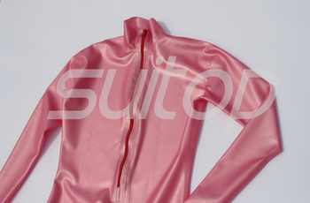 latex metallic pink catsuit rubber zentai High Quanlity level Teddies & bodysuits - DISCOUNT ITEM  5 OFF Novelty & Special Use