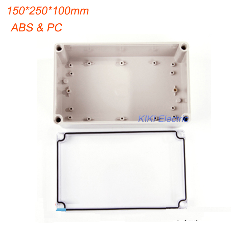 Good Quality box work for terminal /Meter/Switch Enclosure Waterproof IP66 Clear Cover plastic boxes 150*250*100mm DS-AT-1525 стоимость