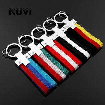 10pcs Car Key Ring Keyring Keychain Germany Flag Key Chain For BMW M Tech M Sport X1 X2 X3 X4 X5 X6 X7 Z4 I8 Car Styling фото