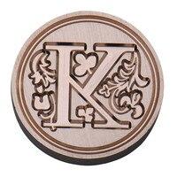 26 английского алфавита металла сургуч ясно марки диаметром 25 мм марки сургучные печати тонкий медь штампы для детей взрослых