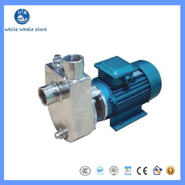 Pompe centrifuge dacier inoxydable de 9.19380V50HZ 1.5KW 304 pour la nourriturePompe centrifuge dacier inoxydable de 9.19380V50HZ 1.5KW 304 pour la nourriture