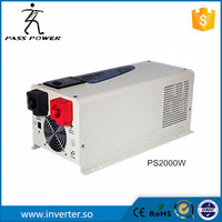 2016 New Design 2000w 2kw Pure Sine Wave Low Frequency Inverter With UPS