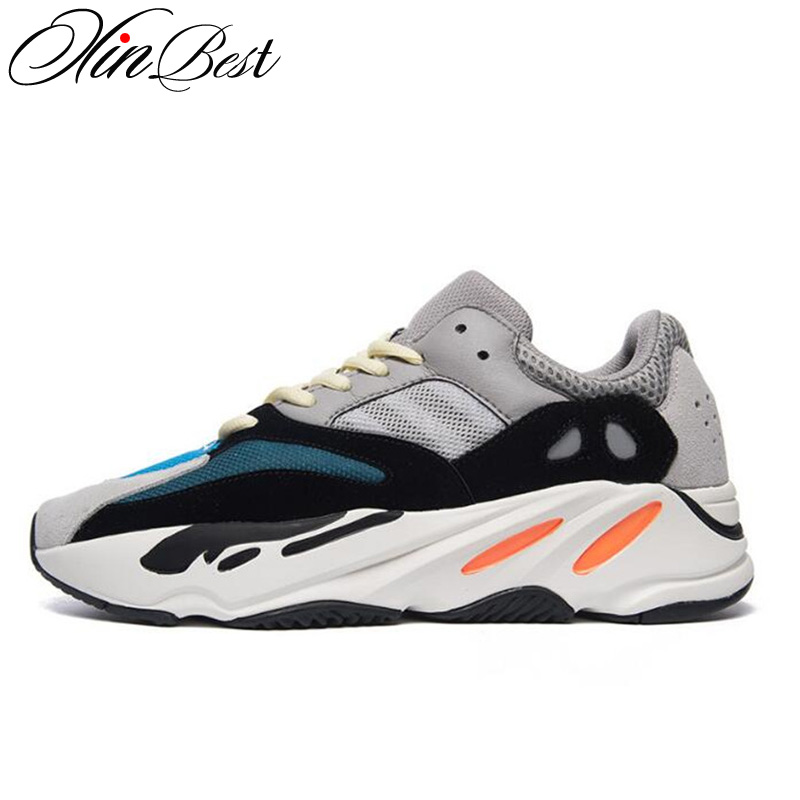 Xinbest Wear resistant Lovers Sports Run Walking Shoes Breathable Flat shoes Casual Shoes Anti Slip Women Sneakers Fitness shoes