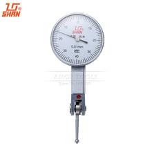 Dial Indicador 0-0.8mm/0.01 Cuerpo De Aluminio de Prueba de Línea de Medición de Herramientas