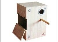 Ring Bird Parrots Breeding Box Nest Box DIY Kits Peony Tiger Birds Nest Parrot Cage Fitting Nesting Lock