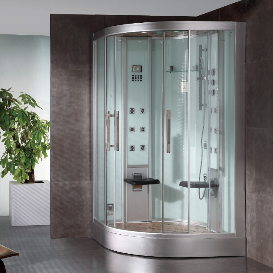 Shower cabins with sauna: types, sizes, reviews 14
