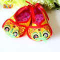Mopopo Chinese National Flavor Newborn Shoes Handmade Baby Shoes Baby Shoes First Walker Unisex Baby Girl Shoes 2017 Hot Sale