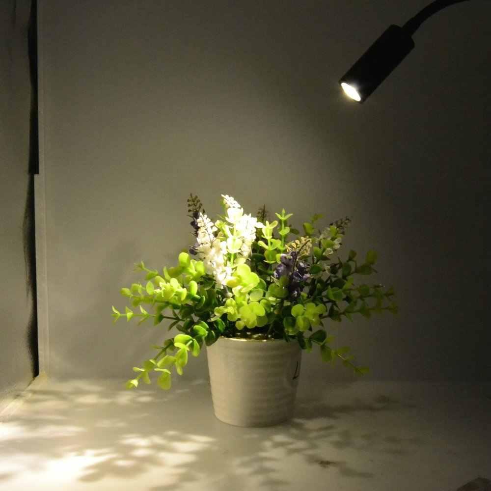 Led duvar lambası 90-260V 3W Modern yatak odası başucu lambası siyah gümüş ışık gövdesi 360 derece açı ayarlanabilir duvar işık ab/abd