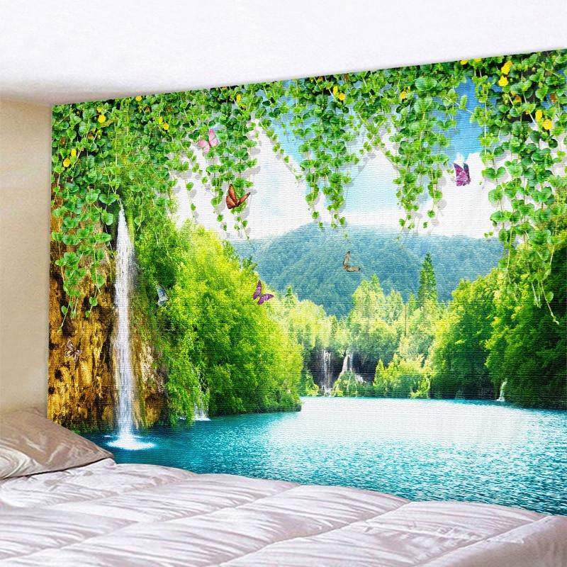 Beautiful Natural Scenery Printed Large Wall Tapestry Cheap Hippie Wall Hanging Bohemian Wall Tapestries Mandala Wall Art Decor