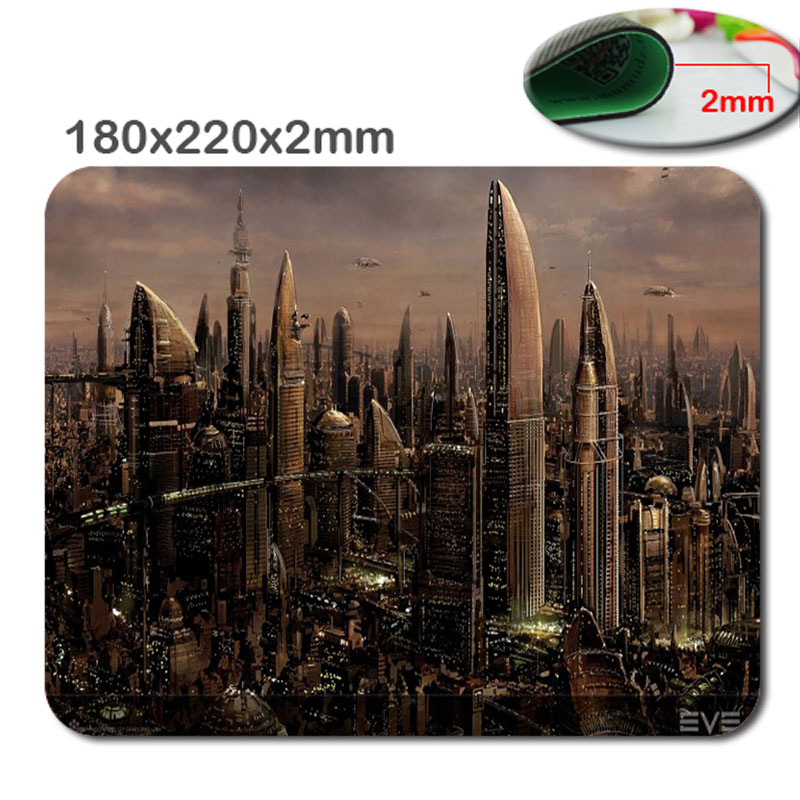 220mm*180mm*2mm New York, HD 3D print gaming pad mouse notbook computer mouse pad padmouse notebook PC players to play mat