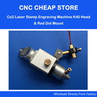 DIY Engraving Cutting K40 Co2 Laser Head + Adjust Focus Focal Diode Module Red Dot Position 5V Holder Dia 22mm
