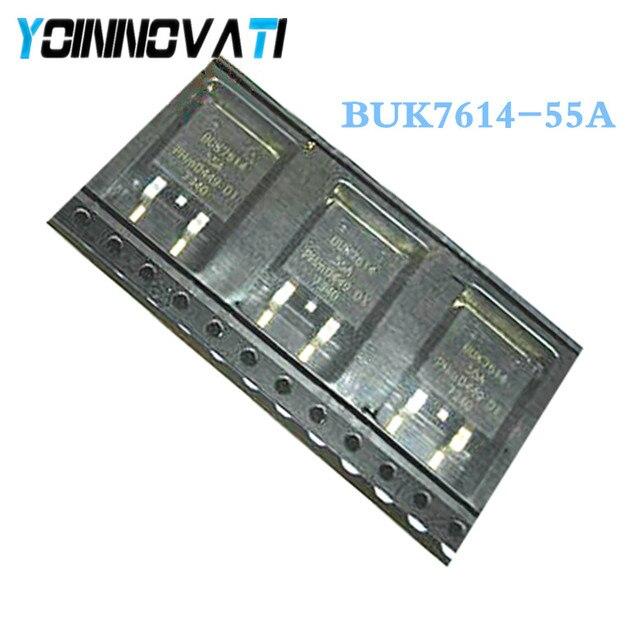 10 pz/lotto BUK7614 55A BUK7614 55 BUK7614 TO 263 migliore qualità.