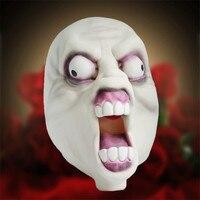 2017 Nieuwe Scary Latex Masker Horro Halloween Volledige Hoofd Aliens Vampire Heks kostuum mascara de latex realista maske party zombi