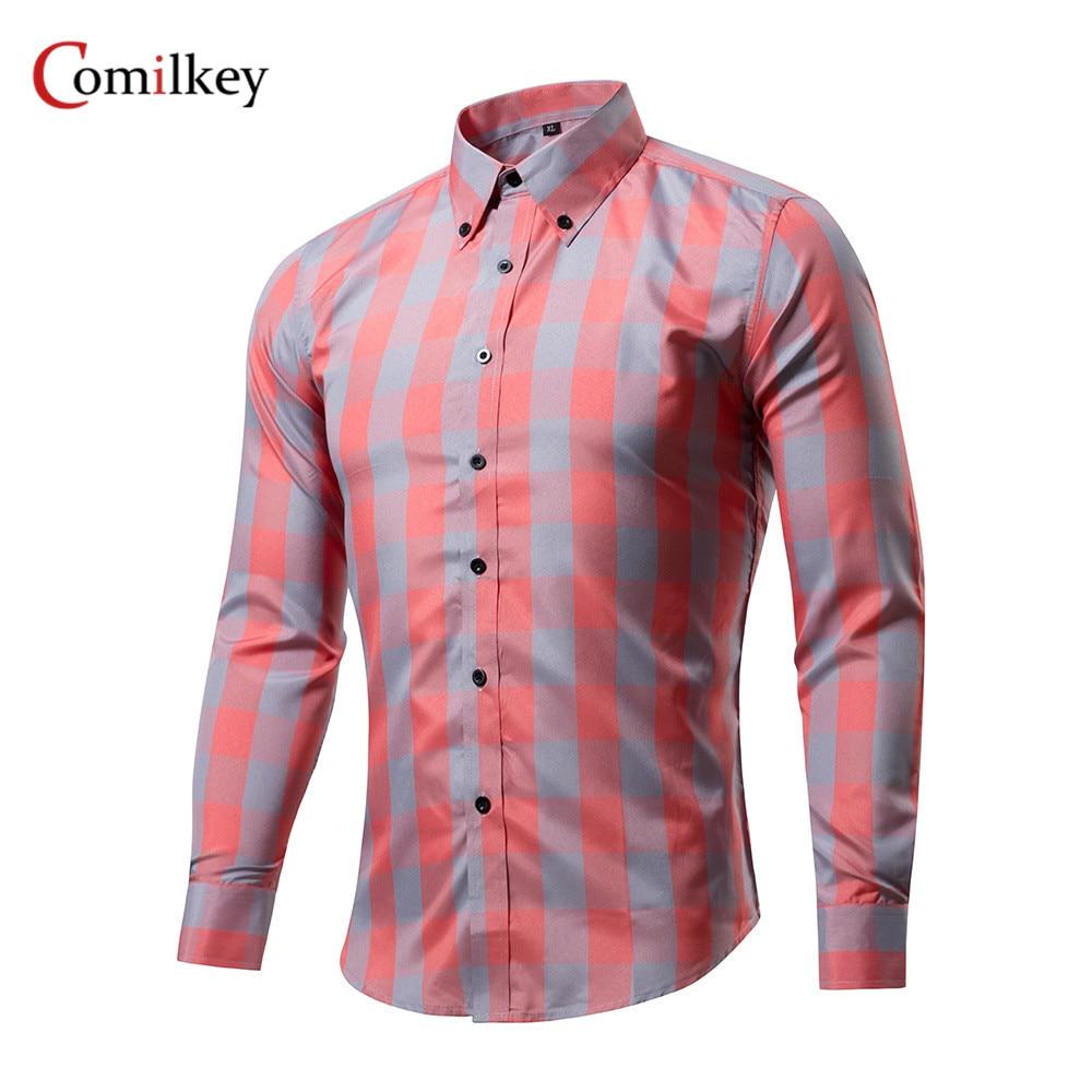Marka Giyim Erkek İş Gömlek Ince Uzun Kollu Erkek Gömlek - Erkek Giyim
