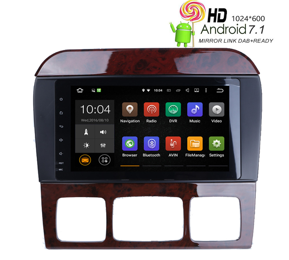 Android car radio for Mercedes/Benz/W220/W215/S280/S320/S350