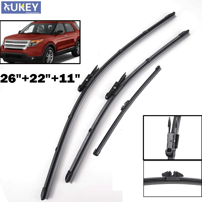 Xukey Windscreen Wiper Blades For Ford Explorer 26