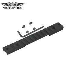 Victoptics Tactical 20 MOA стальное крепление для прицела база адаптер Remington 700 короткое действие Пикатинни