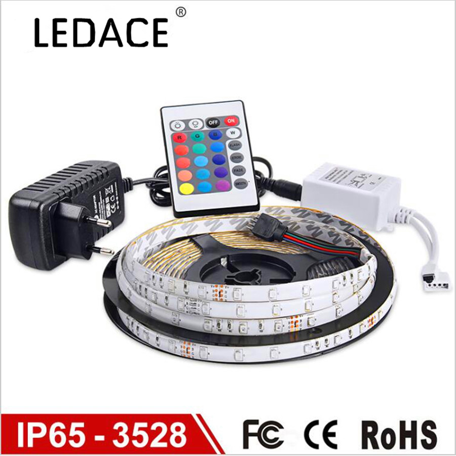 2017 waterproof led rgb strip light smd3528 ip65 fiexble. Black Bedroom Furniture Sets. Home Design Ideas