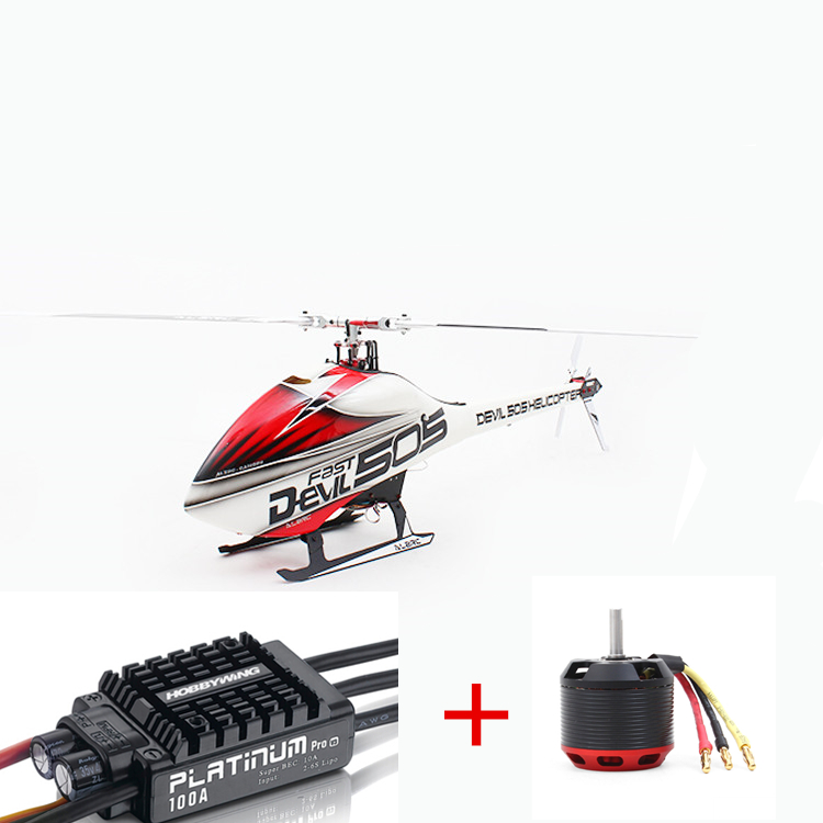 ALZRC Devil 505 FAST RC Helicopter Standard Combo In Stock alzrc devil 450 helicopter parts 450 fast fiberglass shell