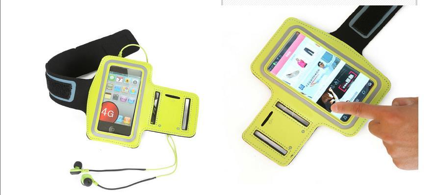Llegada de alta calidad multicolor deportes correr trotar gimnasio - Accesorios y repuestos para celulares - foto 4