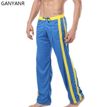 GANYANR Brand Running Pants Men Winter Fitness Crossfit Training Sports Jogger Long Trousers Athletic Loose Jogging
