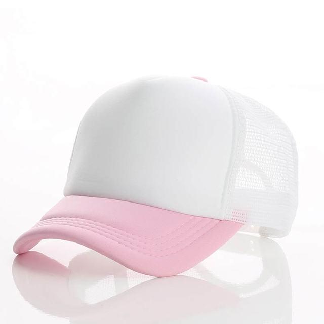 pink white white Baseball net 5c64f225d8786