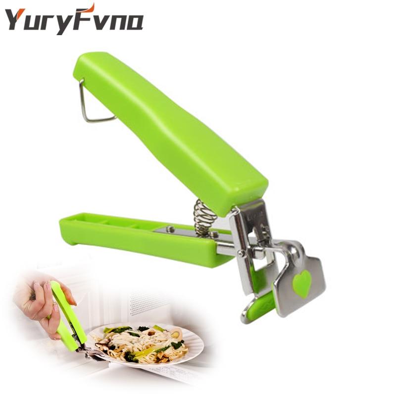 YuryFvna Hot Dish Clamp Schüssel Halter Clip Hot Dish Platte - Küche, Essen und Bar - Foto 1