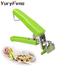 YuryFvna Hot  Dish Clamp Bowl Holder  Clip Hot Dish Plate Bowl Clip Retriever Tongs Pot Pan Gripper Silicone Handle Kitchen Tool