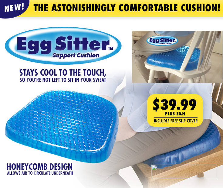 4PCS Family Set Egg Sitter Support Cushion Seat Cushion With Breathable Honeycomb Design Absorbs Pressure Points Hot Selling